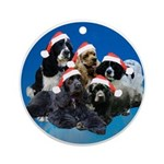 Darlene's kids Ornament (Round)