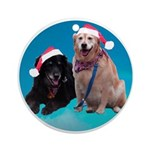 Devlin & Bailey Ornament (Round)