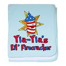 YiaYia's Little Firecracker baby blanket