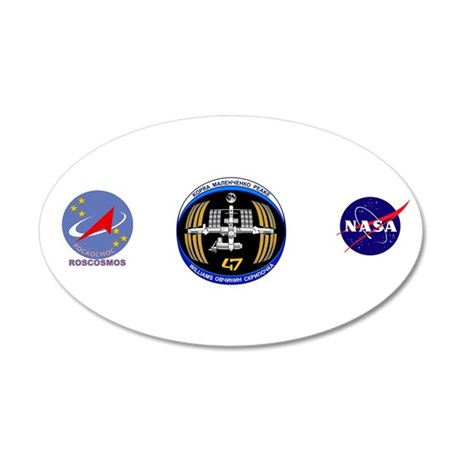 Expedition 47 20x12 Oval Wall Decal