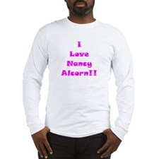 I Love Nancy Alcorn Long Sleeve T-Shirt