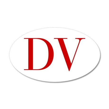 DV-bod red2 Wall Decal