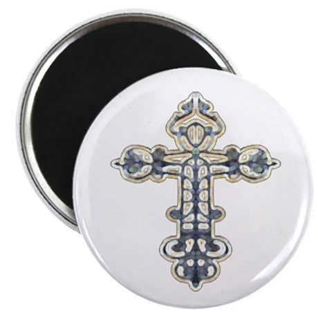 "Ornate Cross 2.25"" Magnet (100 pack)"