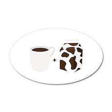Coffee & Milk Wall Decal