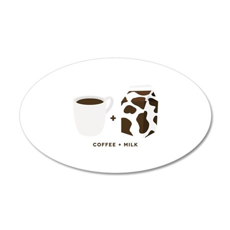 Coffee + Milk Wall Decal