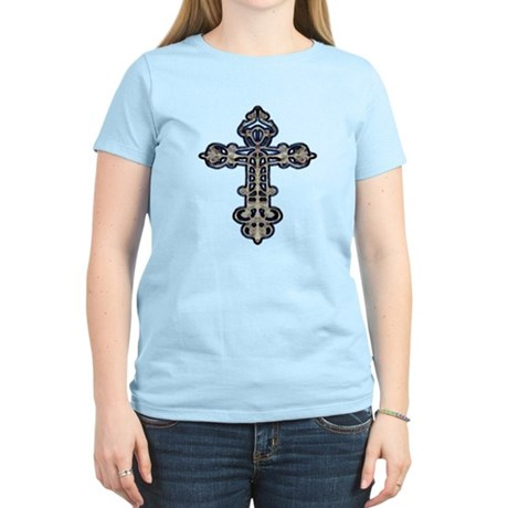 Ornate Cross Women's Light T-Shirt