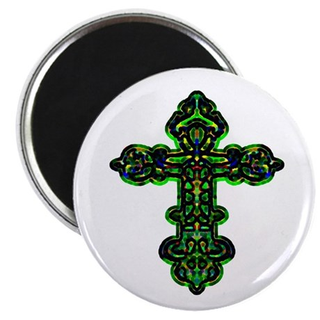 "Ornate Cross 2.25"" Magnet (10 pack)"