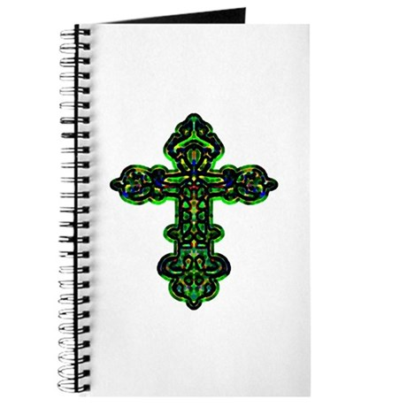 Ornate Cross Journal