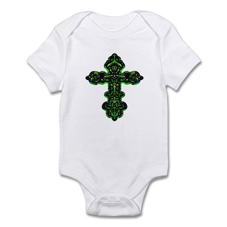 Ornate Cross Infant Bodysuit