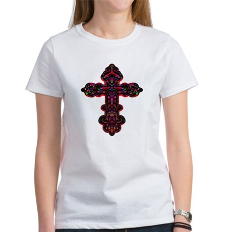 Ornate Cross Women's T-Shirt