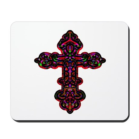 Ornate Cross Mousepad