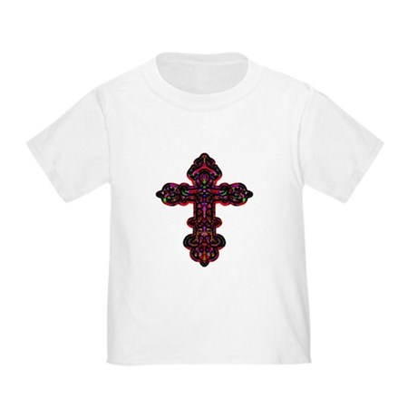Ornate Cross Toddler T-Shirt