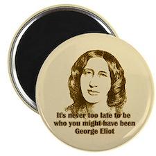 George Eliot Quote Magnet
