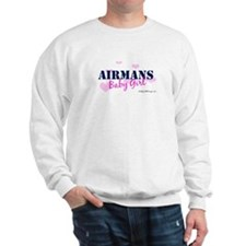 Airman's Baby Girl Pink with Sweatshirt