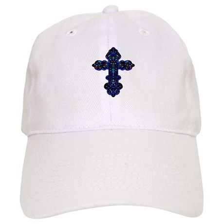 Ornate Cross Cap