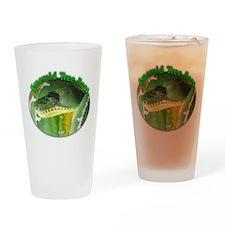 emerald tree boa Drinking Glass