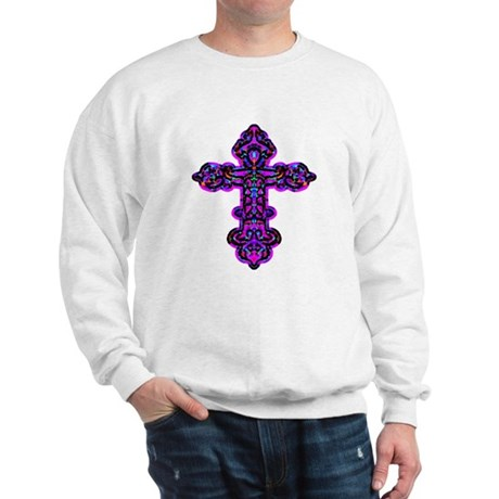 Ornate Cross Sweatshirt
