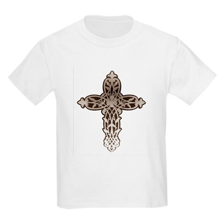 Victorian Cross Kids Light T-Shirt