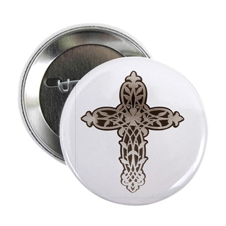 "Victorian Cross 2.25"" Button (100 pack)"