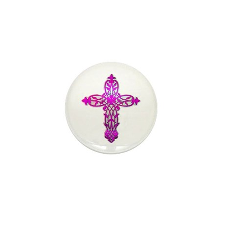 Victorian Cross Mini Button (100 pack)