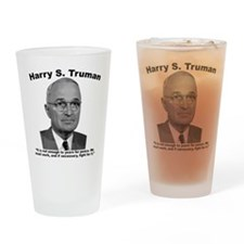Truman: Peace Drinking Glass