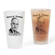 Truman: Hell Drinking Glass