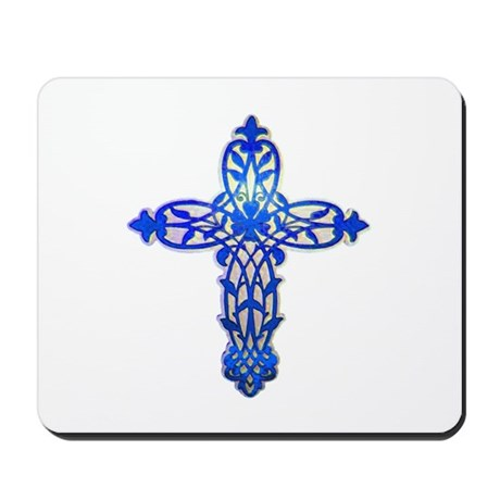 Victorian Cross Mousepad