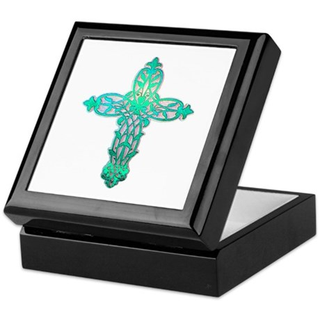 Victorian Cross Keepsake Box