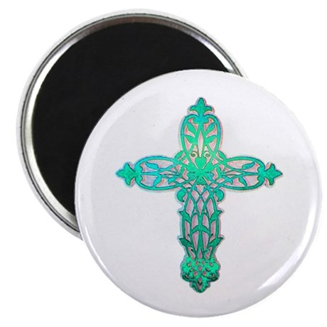Victorian Cross Magnet