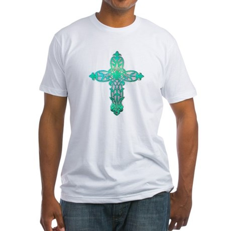 Victorian Cross Fitted T-Shirt