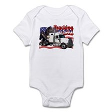 Trucking USA Infant Bodysuit