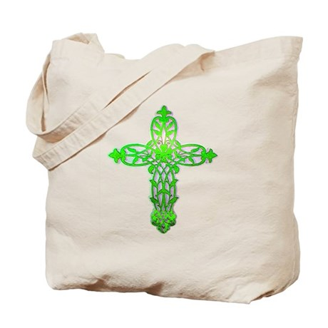Victorian Cross Tote Bag