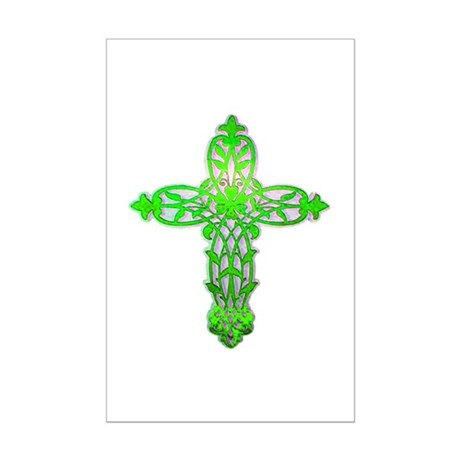 Victorian Cross Mini Poster Print