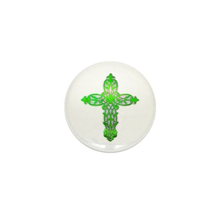 Victorian Cross Mini Button (10 pack)