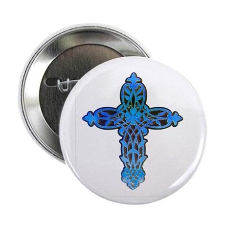 "Victorian Cross 2.25"" Button (10 pack)"