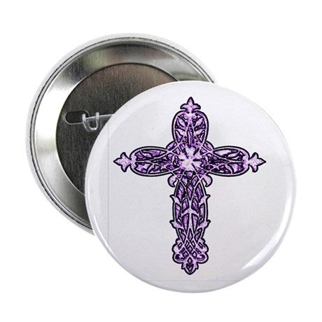 Victorian Cross Button