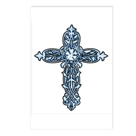 Victorian Cross Postcards (Package of 8)