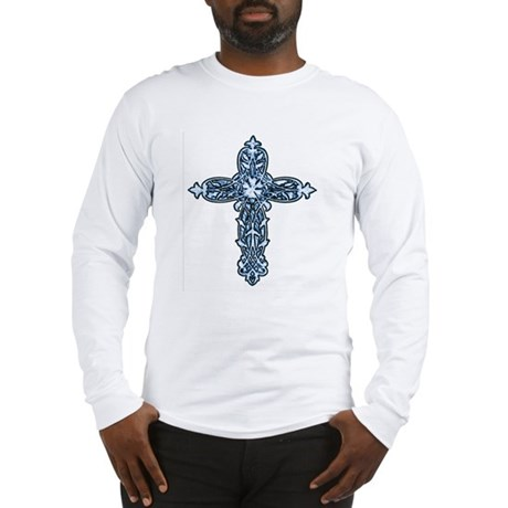 Victorian Cross Long Sleeve T-Shirt
