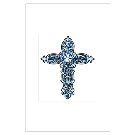 Victorian Cross Large Poster