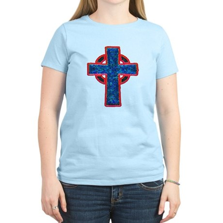 Celtic Cross Women's Light T-Shirt