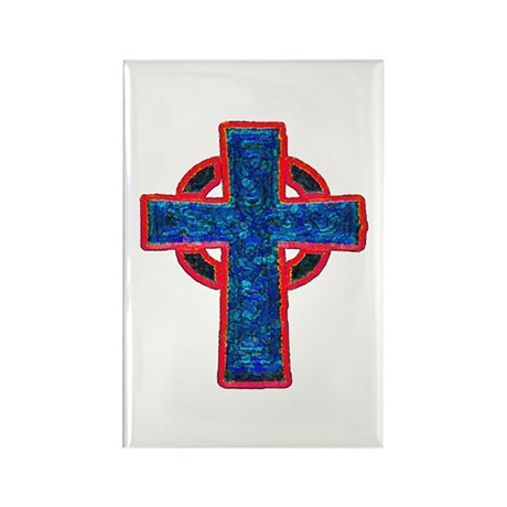 Celtic Cross Rectangle Magnet (100 pack)