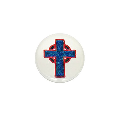 Celtic Cross Mini Button (10 pack)