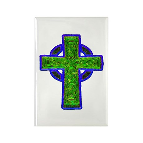 Celtic Cross Rectangle Magnet (10 pack)