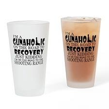 Gunaholic Gun Shop Drinking Glass