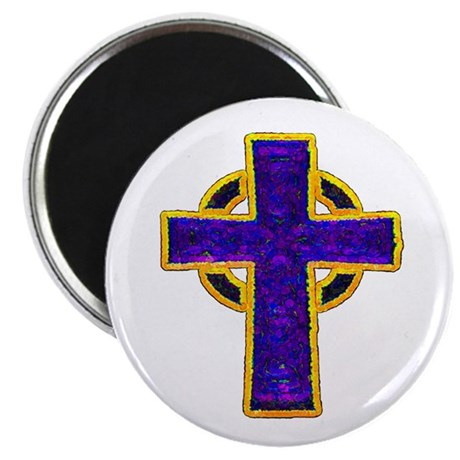 "Celtic Cross 2.25"" Magnet (100 pack)"