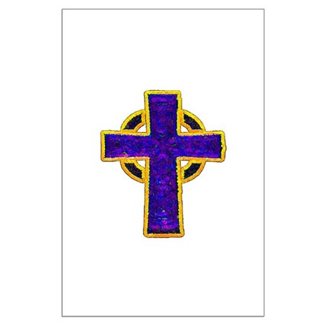 Celtic Cross Large Poster