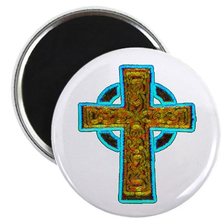 Celtic Cross 2.25&quot; Magnet (10 pack)