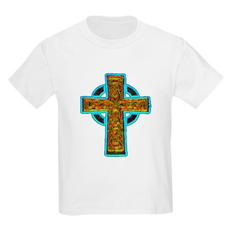 Celtic Cross Kids Light T-Shirt