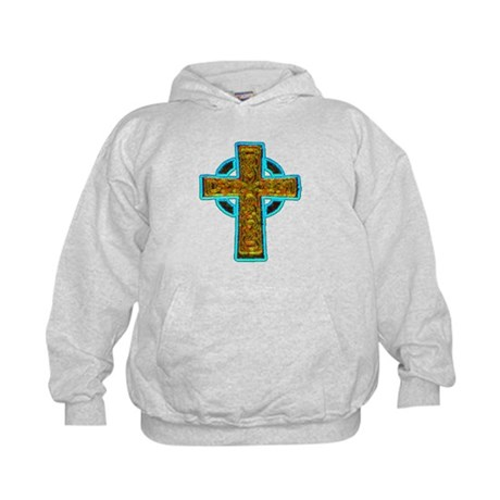 Celtic Cross Kids Hoodie