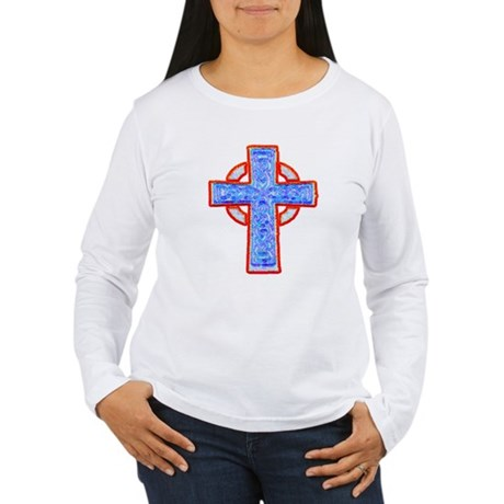 Celtic Cross Women's Long Sleeve T-Shirt